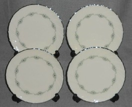 Set (4) Lenox MUSETTE PATTERN Dessert or B&B Plates MADE IN USA - $55.43