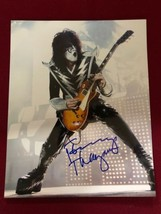 "Tommy Thayer Hand SIgned 9x11"" Kiss Photograph Autogrsph - $78.40"