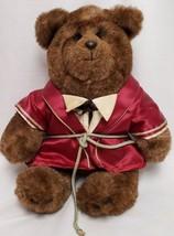 gund Abiner Smoothie plush teddy bears the last elegant bear 1983 smoking jacket - $20.00