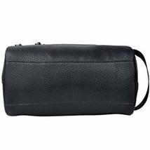 Men Toiletry Travel Bag Shave Kit Leather Organizer Dopp Shaving Accesso... - £13.54 GBP