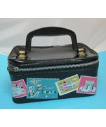 Vintage Hasbro Doll or Small Child Size Suitcase Bag Purse w Travel Stic... - $32.18