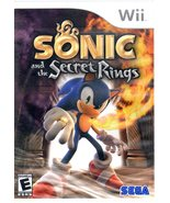 Wii Game - Sonic and the Secret Rings - $9.90