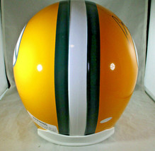 BART STARR / AUTOGRAPHED FULL SIZE GREEN BAY PACKERS THROWBACK HELMET / STEINER image 5