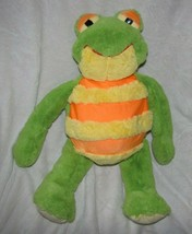 Frog MUSHABELLY CHATTER FLOPPY Plush Jay at Play Toys 2006 Rumer Yellow ... - $31.67