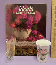 Ideals Mothers Day Magazine March 1997 Issue Plus Glass Bell & Ceramic G... - $8.90