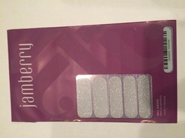 Jamberry Nails (new) 1/2 sheet FIRST FROST - $8.42