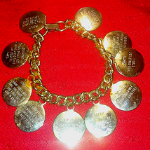 Beautiful Ten Commandment bracelet - $20.79