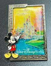 Walt Disney 2003 Official Pin Trading Mickey Cinderella Castle 3D Metal Pinback - $13.53