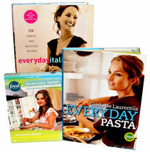 2 Giada De Laurentiis Cookbooks Everyday Italian ✚ Everyday Pasta ✚ Food... - $24.95
