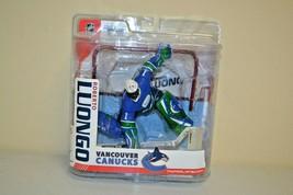 Roberto Luongo Vancouver Canucks Nhl Series 15 Mcfarlane 2007 Variant Chase Blue - $24.74