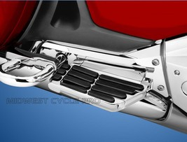 Kuryakyn Chrome Passenger Floorboard Side Covers - Goldwing GL1800 & F6B (7506) - $53.99