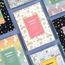 Rainbow Diary Undated Planner Scheduler Journal Study Notebook Organizer... - $16.99