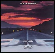 1978 Ford T-bird Thunderbird ORIGINAL Brochure Xlnt - $4.54