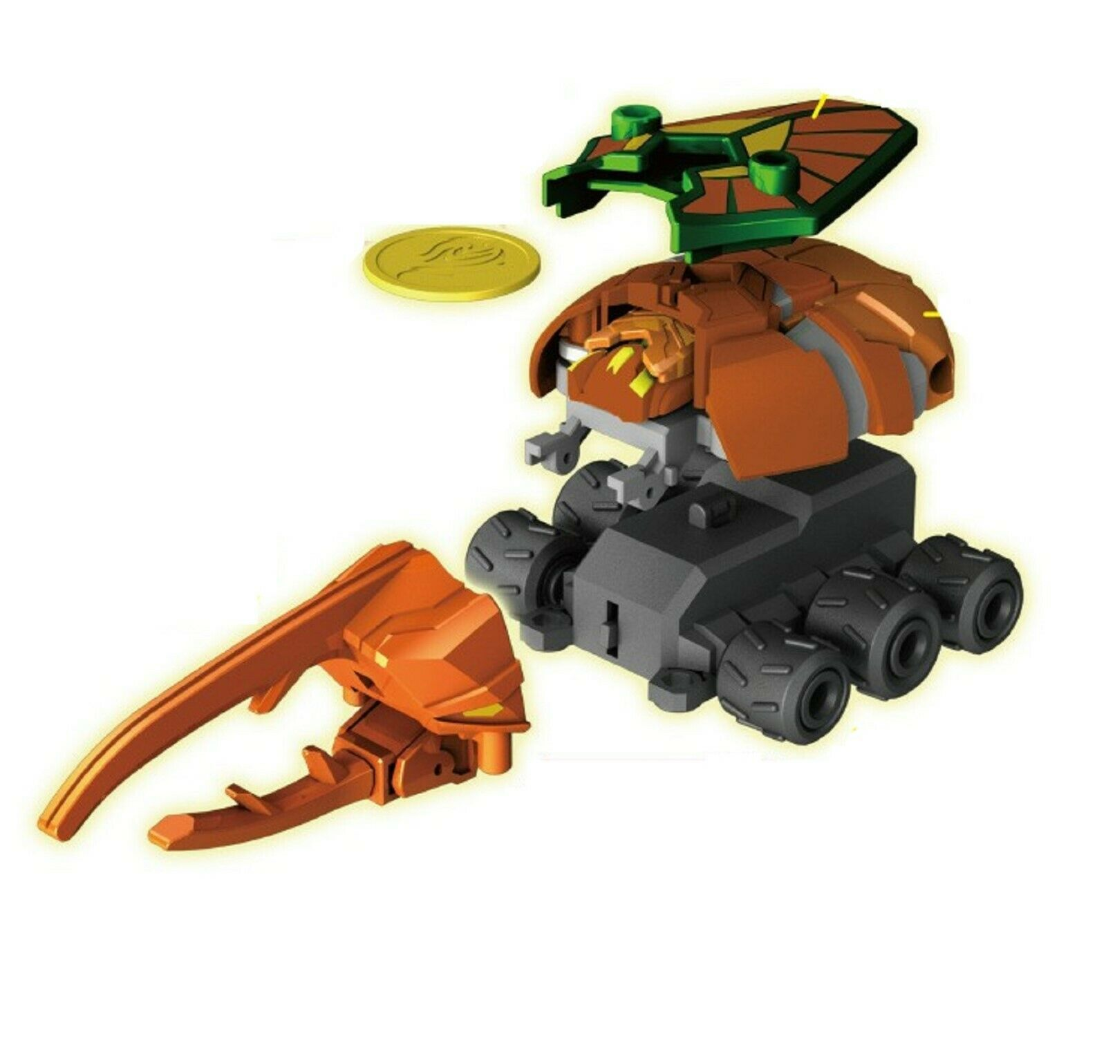 Bugsbot Ignition Basic B-03 Battle Hercules Action Figure Battling Bug Toy