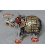 Elephant statue Figurine Minakari Art Home Decor Gift Antique white Marble - $27.72