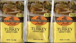 Southeastern Mills Roast Turkey Gravy 3 Pack -- Each Makes 2 Cups - $9.40