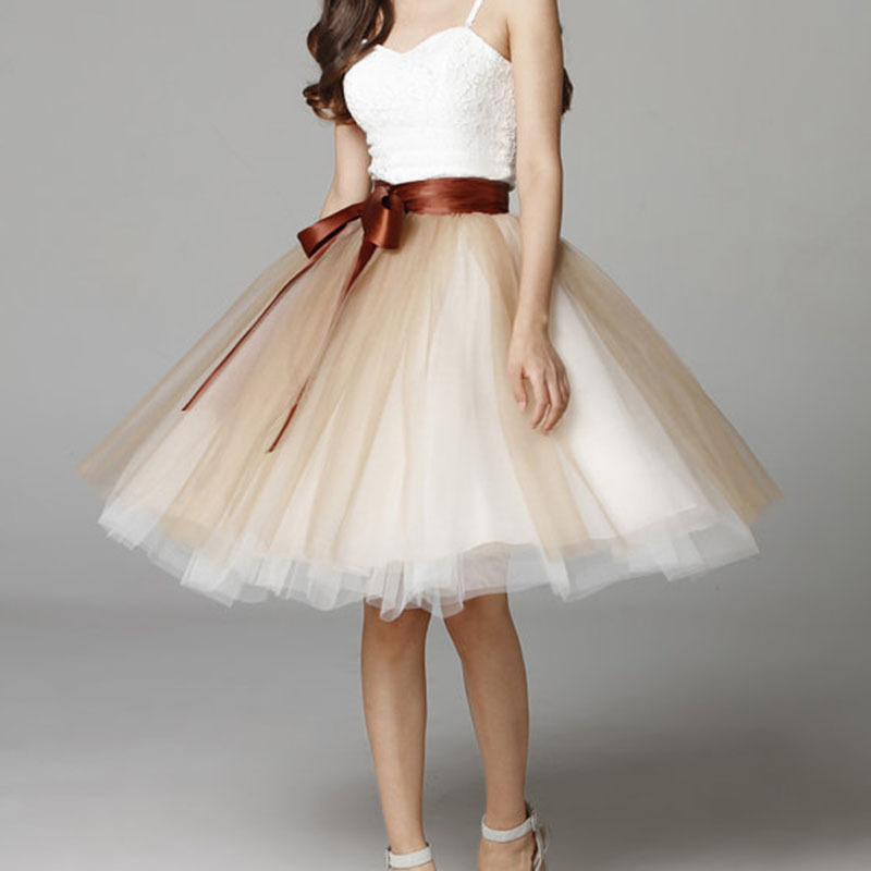 Knee length tutu tulle skirt  17