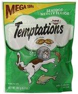 Whiskas Temptations Cat Treats (Seafood Medley Flavor) 6.3 oz - $9.22