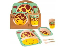 ECO Feeding Sets 5pc Bamboo Cookware Set Your Baby Ecological Biodegrada... - $42.99