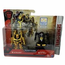 TRANSFORMERS The Last Knight AUTOBOTS UNITE BUMBLEBEE & AUTOBOT HOT ROD ... - $20.79