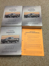 2007 Dodge Dakota Truck Service Repair Shop Workshop Manual Set W Bulletin Pages - $138.59