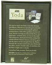 Star Wars Yoda: Bring You Wisdom, I Will. Figurine, Cards Inspirational Booklet image 2