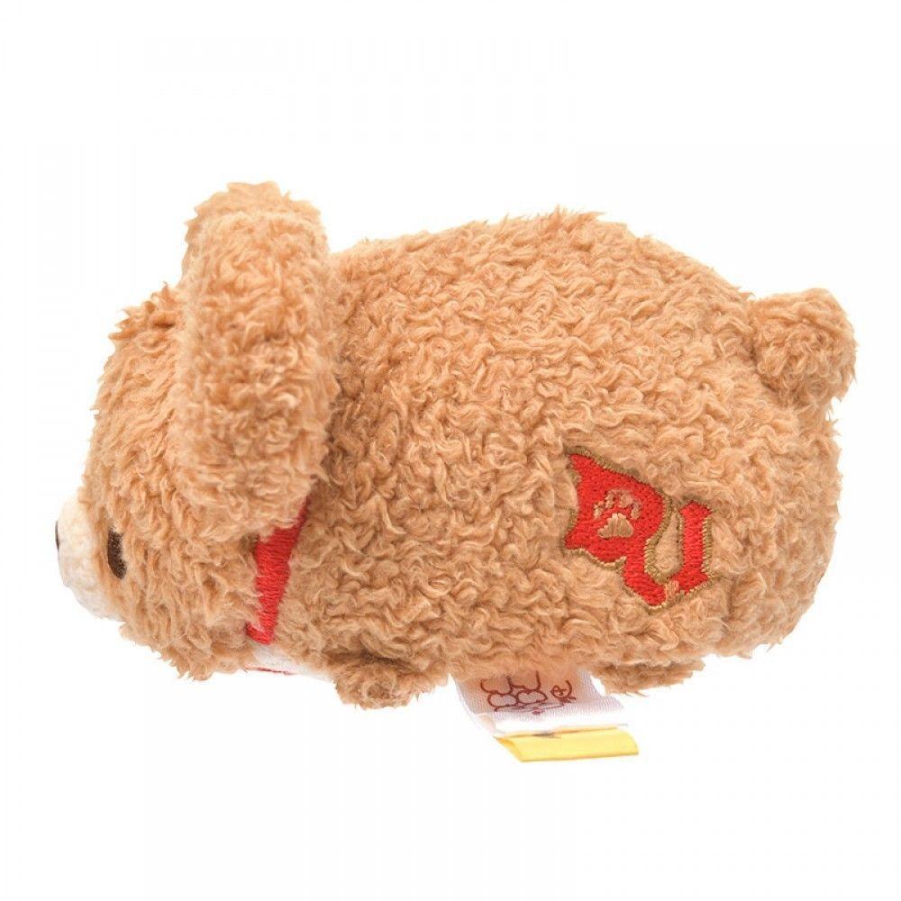 Disney Store Japan UniBEARsity Mocha Duffy Mini Tsum Plush New with Tags