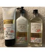 Bath Body Works Aromatherapy SERENITY MARIGOLD ROSE MAGNOLIA Wash Lotion... - $49.95