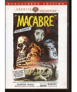 WB Archive Collection Macabre DVD Remastered Edition Horror Monster Mania - $19.95