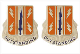 Genuine U.S. Army Crest: 44TH Signal Battalion (Outstanding) - $18.79