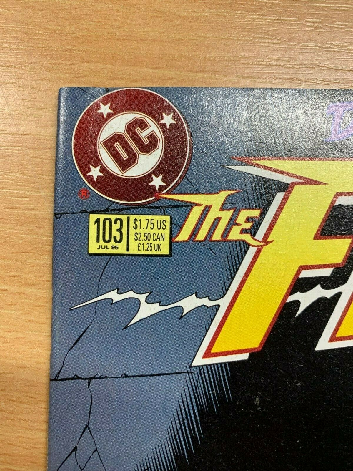 DC COMICS - FLASH #103 (JULY 1995) VFN COND - (NEW BAG & BOARD)
