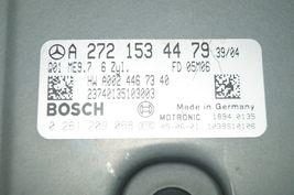 Mercedes Engine Control Unit Module ECU ECM A2721534479 A-272-153-44-79 image 3