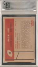1960 Fleer #38 Jack Lee RC Rookie GAI 8.5 image 2