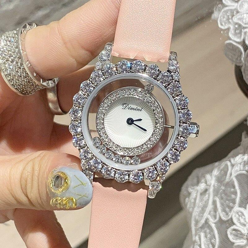 Primary image for 2019 Top Luxury Brand Diamond Women Watches Women Roll Drill Crystal Rhinestone