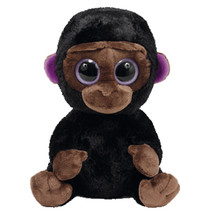 "Pyoopeo Ty Beanie Boos 6"" 15cm Romeo the Gorilla Plush Regular Soft Big ... - $15.20"