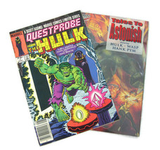 THE HULK 2 Marvel Comic Books (Questprobe #1 1984) (Tales to Astonish Vol 3 #1) - $9.95