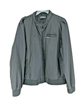 Members Only Cafe Racer Jacket Mens Size XL Black (HD) - $26.48