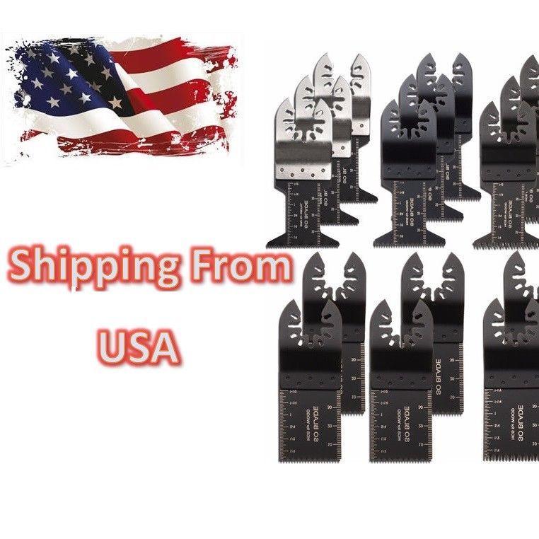 20pcs Oscillating Multi Tool Saw Blades for Fein Multimaster Makita Bosch USA - $19.98