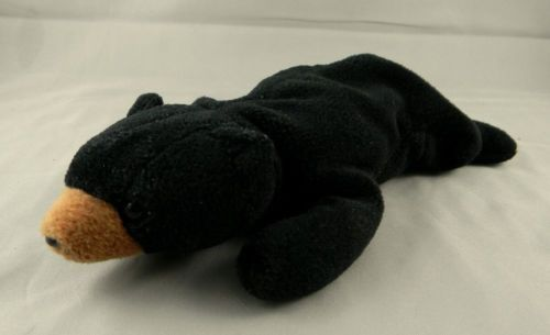 1eadae5ca06 TY Beanie Babies Blackie Black Bear Plush and 27 similar items. 12