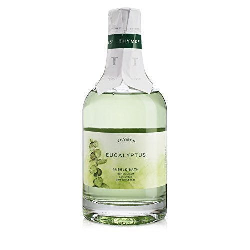 Thymes - Eucalyptus Bubble Bath - Relaxing Foam and Natural Eucalyptus Oil for S