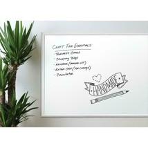 U Brands Basics Magnetic Dry Erase Board 35 x 23 Inches Silver Aluminum Frame image 2