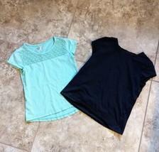 Girl's 2 Piece Shirt Lot Size 7/8 Gymboree - $8.91