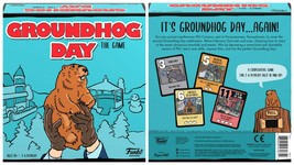 NEW SEALED 2021 Funko Groundhog Day Board Game Bill Murray - $46.39
