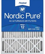 Nordic Pure 20x25x4/20x25x5 19 7/8 x 24 7/8 x 4 3/8 Honeywell FC100A1037... - $55.71