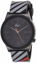 Lacoste Men's 2010936 Motion Analog Display Quartz Black Watch - $107.53