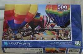 BRAND NEW FACTORY SEALED 500 Piece Puzzlebug Jigsaw Puzzle Balloon Festival - $6.92
