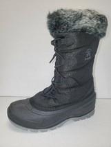 Kamik momentum 2 Winter Boots Womens 6 Waterproof black - $49.49