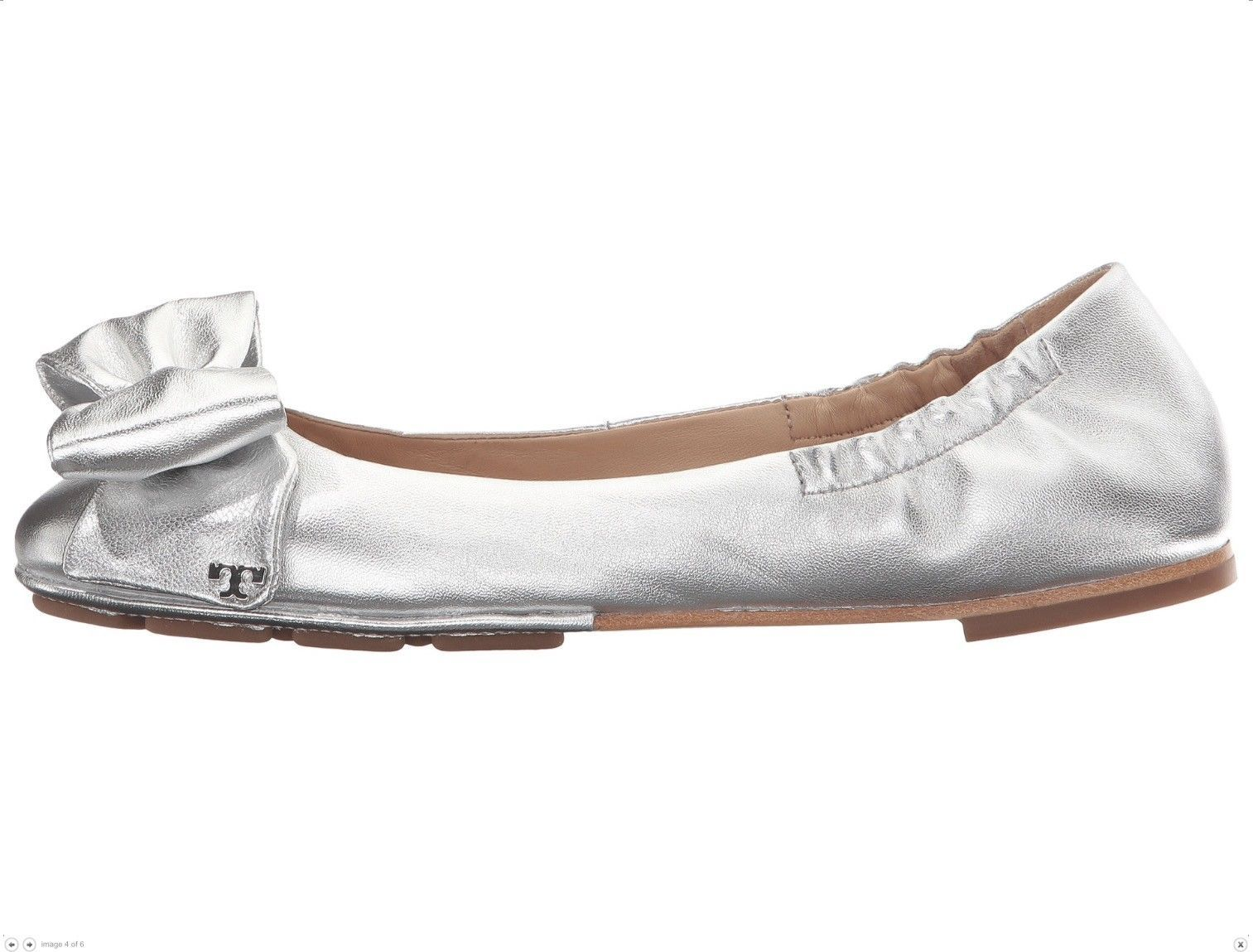 Tory Burch Divine Bow Driver Ballet Flats
