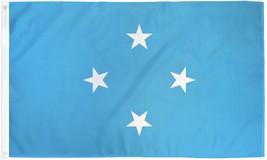 "Micronesia 3X5' Flag New 3'X5' 3 X 5 Feet 36X60"" Big - $9.85"