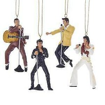 Elvis® Ornament Gift Set Ornaments, 4-Piece Box Set w - $39.99